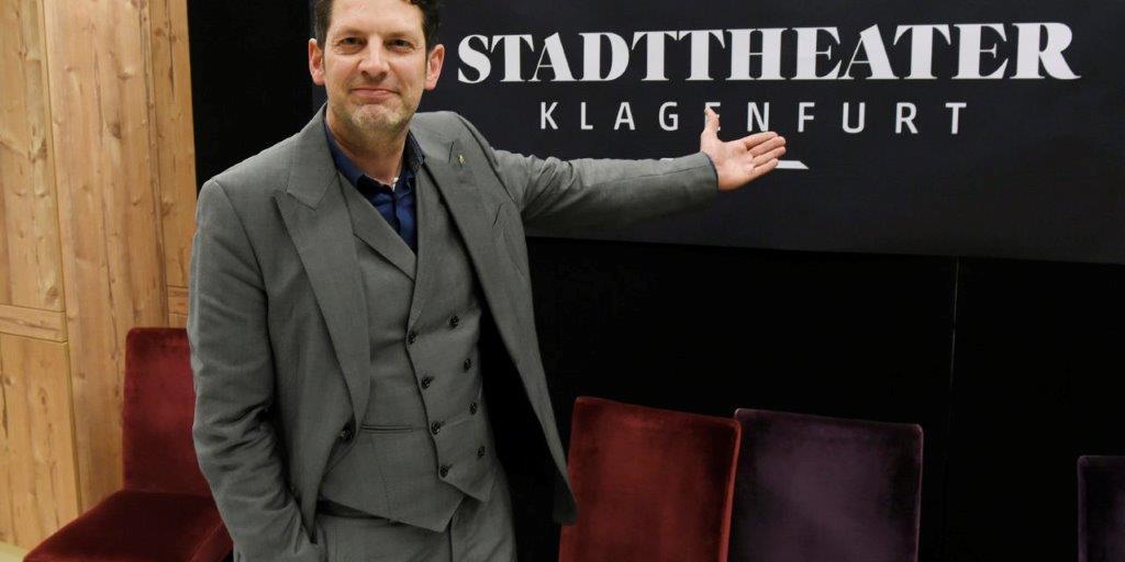 Aron Stiehl wird Intendant am Theater Klagenfurt